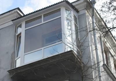 цена на французский балкон Днепропетровск