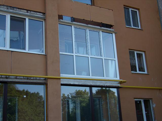 французский балкон с пластиковых окон