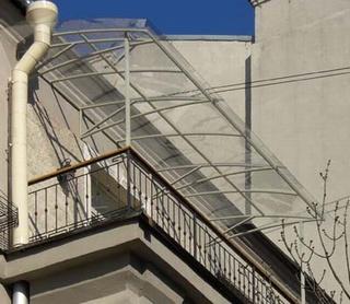 крыша на балконе из поликарбоната Днепропетровск
