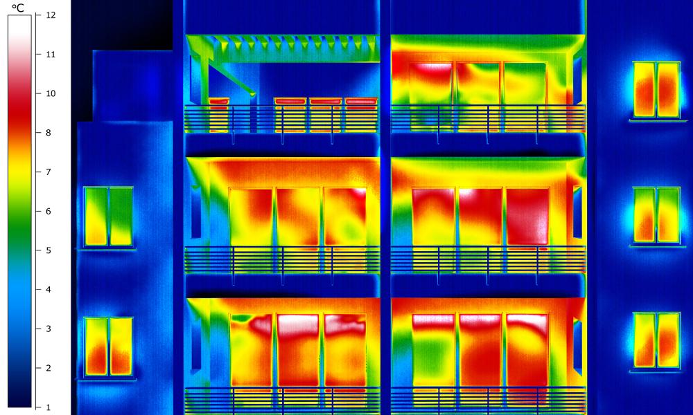 потери тепла в помещении