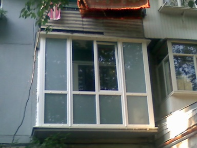 установка французского балкона в Днепропетровске