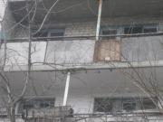Балкон в д.45 по ул.Калиновой до демонтажа