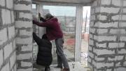 установка склопакета в панорамне вікно