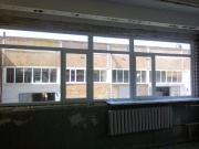 Установка вікон на заводі