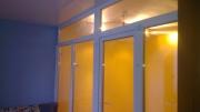перегородка з вікон в квартирі-3