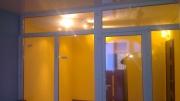 перегородка з вікон в квартирі