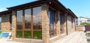 Установка пластиковых окон Rehau на террасе в новом доме