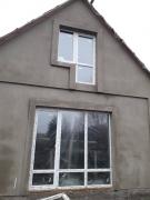 Установка металлопластиковых окон Steko и входных дверей в доме