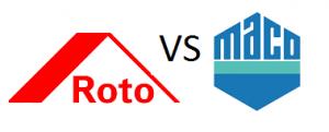 Фурнитура для пластиковых окон в Днепре - Roto или Maco